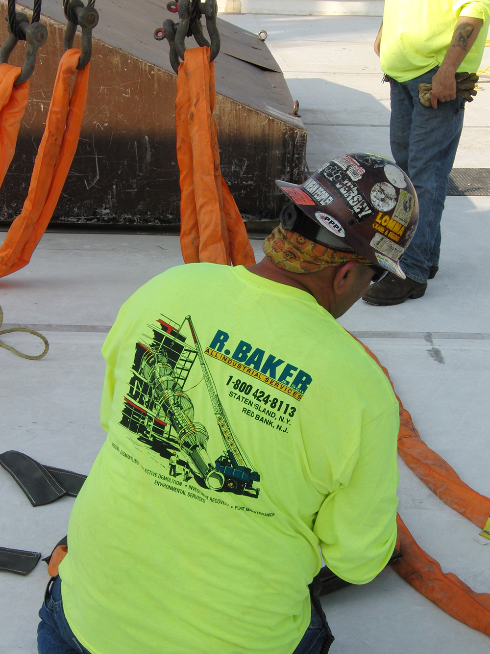 Rigging Contractor, Crane, NY,NJ, R. Baker & Son