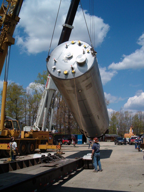 Critical Lift of Equipment Using Crane and Rigging by R. Baker &
