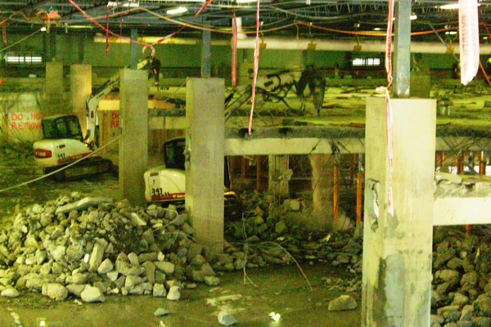 Interior Demolition of Concrete Slabs by R. Baker & Son